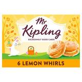 Mr Kipling 6 Lemon Whirls
