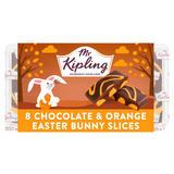 Mr Kipling 8 Chocolate & Orange Easter Bunny Slices