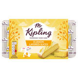 Mr Kipling 8 Lemon Layered Slices