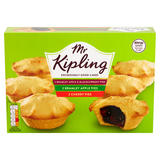 Mr Kipling Bramley Apple & Blackcurrant, Bramley Apple and Cherry Pies