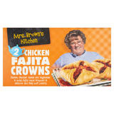 Mrs. Brown's Kitchen 2 Chicken Fajita Crowns 208g