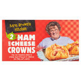 Mrs. Brown's Kitchen 2 Ham and Cheese Crowns 220g