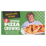 Mrs. Brown's Kitchen 2 Pepperoni Pizza Crowns 208g