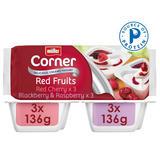 Muller Corner Mixed Red Fruits Yogurts 6 x 143g