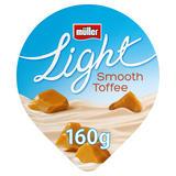 Müller Light Toffee Fat Free Yogurt 160g
