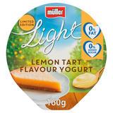 Müller Limited Edition Light Lemon Tart Flavour Yogurt 160g