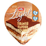 Müller Limited Edition Light Tiramisù Flavour Yogurt 160g