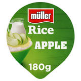 Müller Rice Apple Low Fat Pudding Dessert 180g