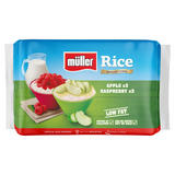 Müller Rice Apple & Raspberry Low Fat Pudding Dessert 6 x 180g