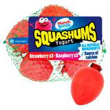 Munch Bunch Squashums Shapes Strawberry & Raspberry 6x60g