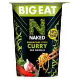 Naked Big Eat Singapore Style Curry Egg Noodles 104g