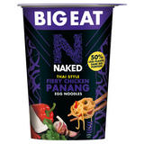 Naked Big Eat Thai Style Fiery Chicken Panang Egg Noodles 104g