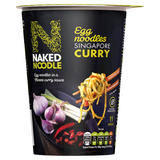 Naked Noodle Egg Noodles Singapore Curry 78g