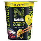 Naked Singapore Style Curry Egg Noodles 78g
