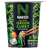 Naked Thai Style Green Curry Egg Noodles 78g