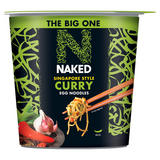 Naked The Big One Singapore Style Curry Egg Noodles 104g