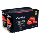 Napolina Chopped Tomatoes in a Rich Tomato Juice 6 x 400g