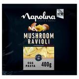 Napolina Mushroom Ravioli Egg Pasta 400g