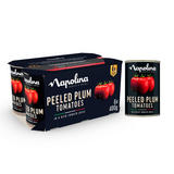 Napolina Peeled Plum Tomatoes in a Rich Tomato Juice 6 x 400g