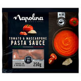 Napolina Tomato & Mascarpone Pasta Sauce 250g