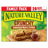 Nature Valley Crunchy Canadian Maple Syrup Family Pack Cereal Bars 10 x 42g (420g)