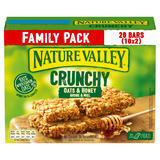 Nature Valley Crunchy Oats & Honey Family Pack Cereal Bars 10 x 42g (420g)