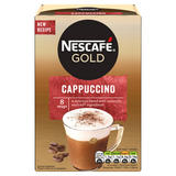 Nescafe Gold Cappuccino Instant Coffee 8 x 15.5g Sachets