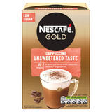 Nescafe Gold Cappuccino Unsweetened Instant Coffee 8 x 14.2g Sachets