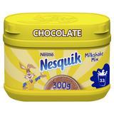 Nesquik Chocolate Flavoured Milkshake Powder 300g Tub
