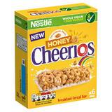 NESTLÉ HONEY CHEERIOS Cereal Bars 6 x 22g Box