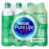 Nestlé Pure Life Sparkling Spring Water 8x500ml