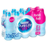 Nestle Pure Life Still Spring Water 10x330ml