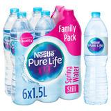 Nestle Pure Life Still Spring Water 6x1.5L