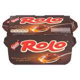 Nestlé Rolo Dessert Milk Chocolate and Toffee Pot 65g Pack of 4