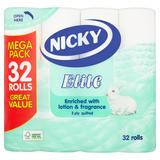 Nicky Elite 3 Ply Quilted 32 Rolls