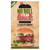 No Bull Steak-Style Burgers 2 x 113g (226g)