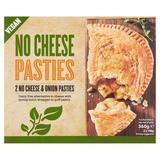 No Cheese Pasties No Cheese & Onion 2 x 180g (360g)