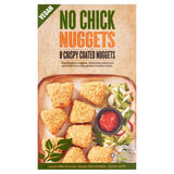 No Chick Nuggets Crispy Coated Nuggets 8 x 25g (200g)