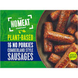 No Meat 16 No Porkies Cumberland Style Sausages 672g