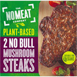 No Bull Mushrooms Steaks 2 x 80g (160g)