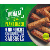 No Meat 6 No Porkies Cumberland Style Sausages 252g