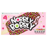 Nobbly Bobbly Strawberry & Chocolate Ice Cream 4 x70ml