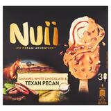 Nuii Caramel White Chocolate & Texan Pecan Ice Cream 3 x 90ml