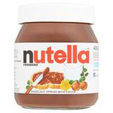 Nutella Hazelnut and Cocoa Spread Jar 400g