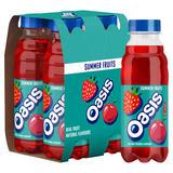 Oasis Summer Fruits 4 x 375ml