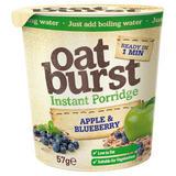 Oatburst Instant Porridge Apple & Blueberry 57g
