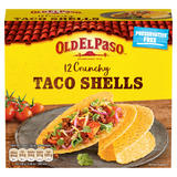 Old El Paso 12 Crunchy Taco Shells 156g
