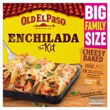 Old El Paso Cheesy Baked Enchilada Kit 995g