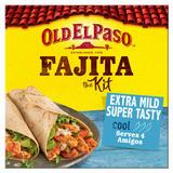 Old El Paso Extra Mild Super Tasty Fajita Kit 476g