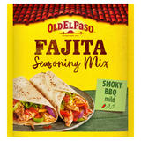 Old El Paso Fajita Seasoning Mix Smoky BBQ 35g
